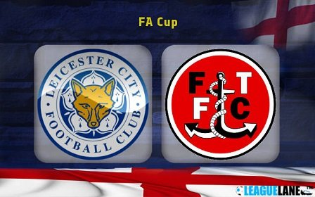 Leicester win Fleetwood