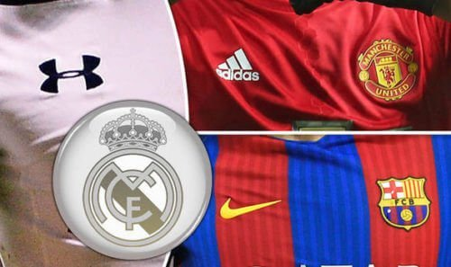 Real-Madrid-Manchester-United-kit-deal-Under-Armour-Barcelona-