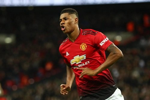 Rashford to score first