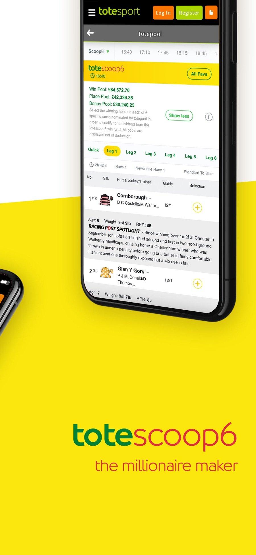 totesport mobile betting setup